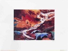 Walt Disney's Bambi: Drip, Drip, Drop Poster