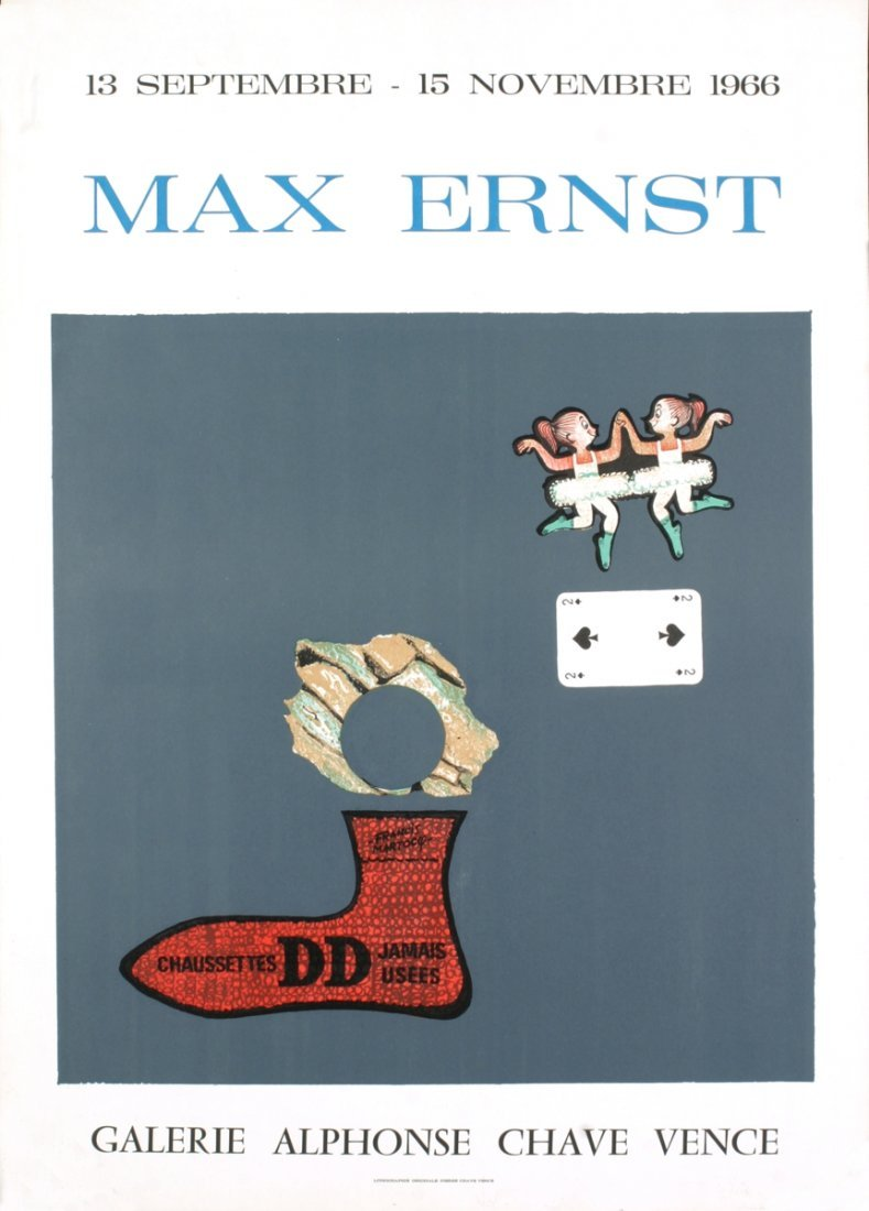 1966 Ernst Alphons Chave Vence Mourlot Lithograph