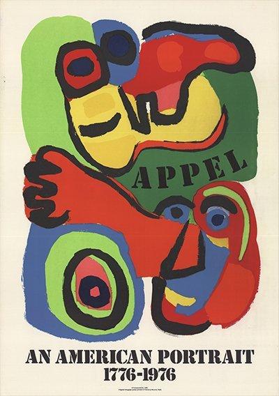 1975 Appel American Portrait Mourlot Lithograph