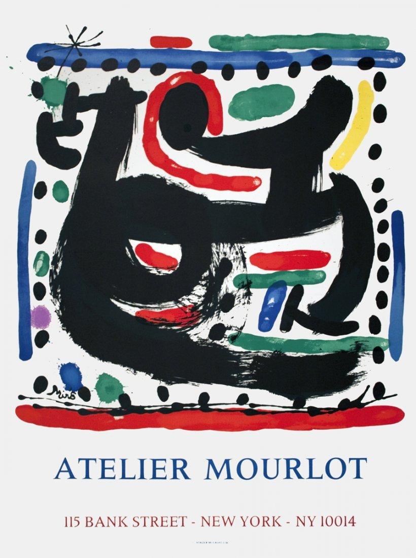 1967 Miro Atelier Mourlot Mourlot Lithograph