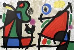 1970 Miro Derriere le Miroir 186 pg 2,7 Litho