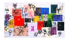 Signed 2002 Condo Paper Faces Serigraph