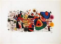 1974 Miro Ceramics Lithograph