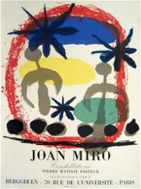 1959 Miro Constellations Mourlot Lithograph