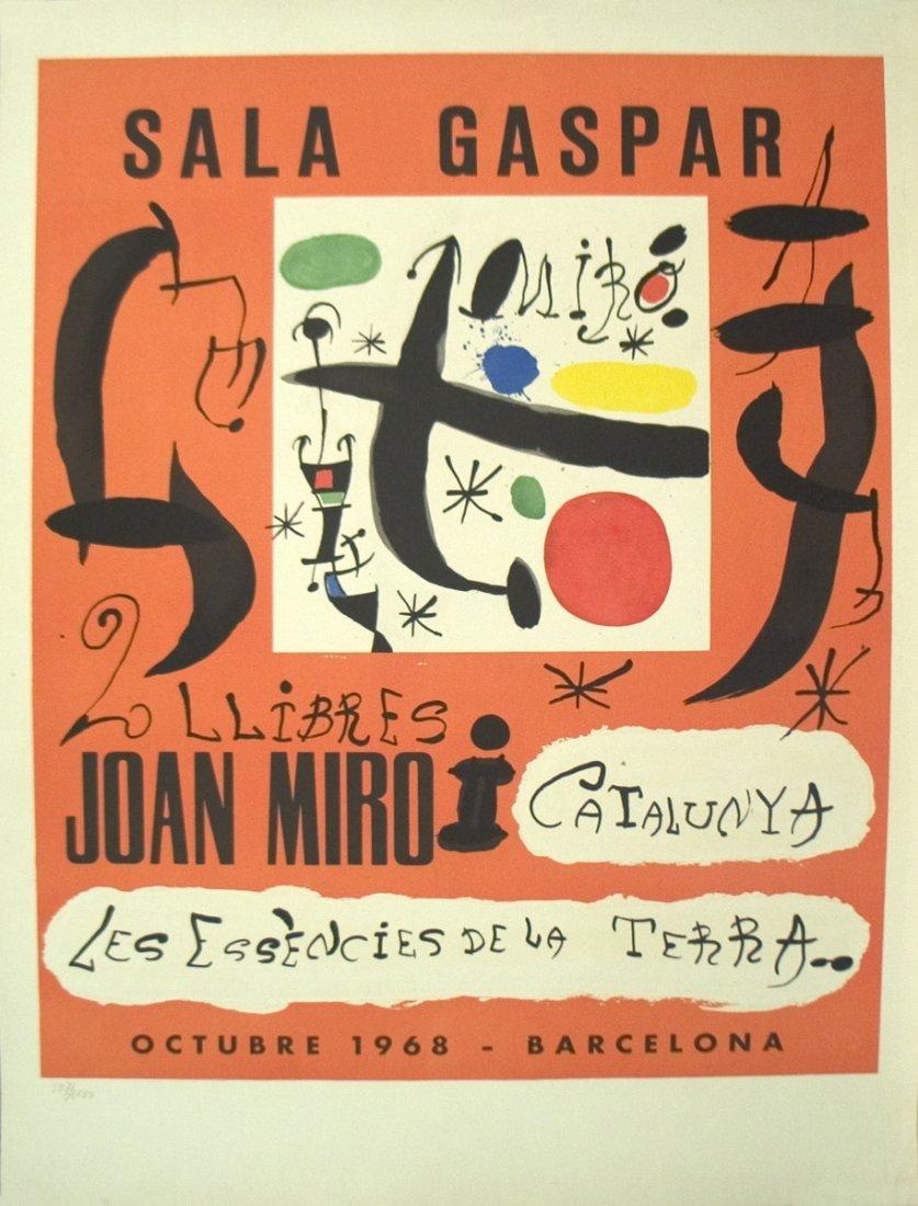 1968 Joan Miro i Catalunya Lithograph