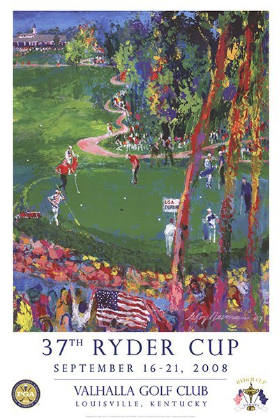 2007 Neiman 37th Ryder Cup Poster