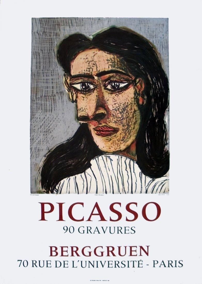 1971 Picasso 90 Gravures at Berggruen Mourlot