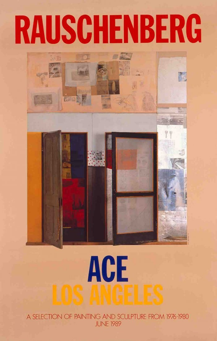 Rauschenberg A Selection of Painting & Sculpture