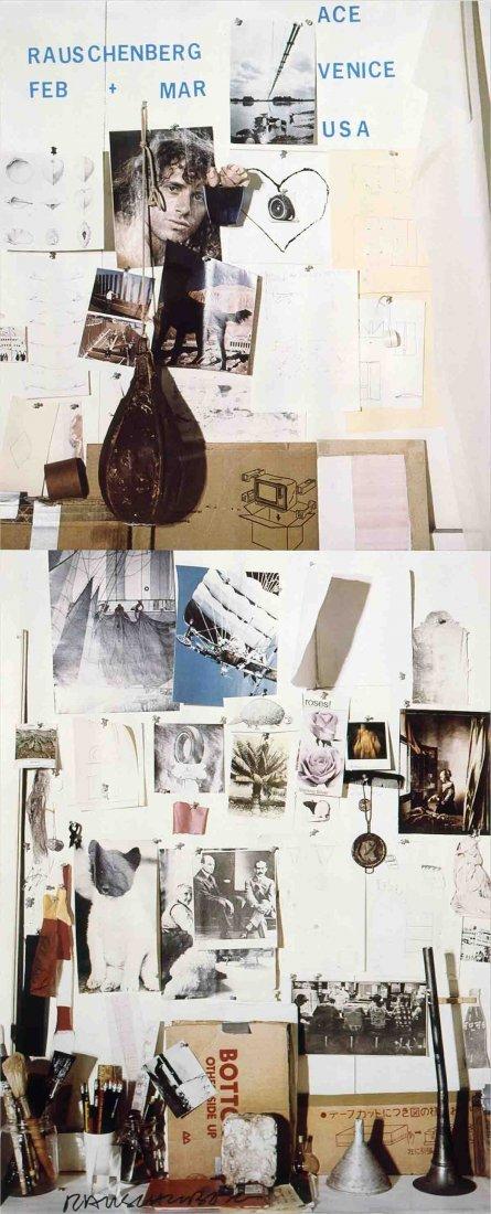 1978 Rauschenberg Ace Gallery, Venice, California