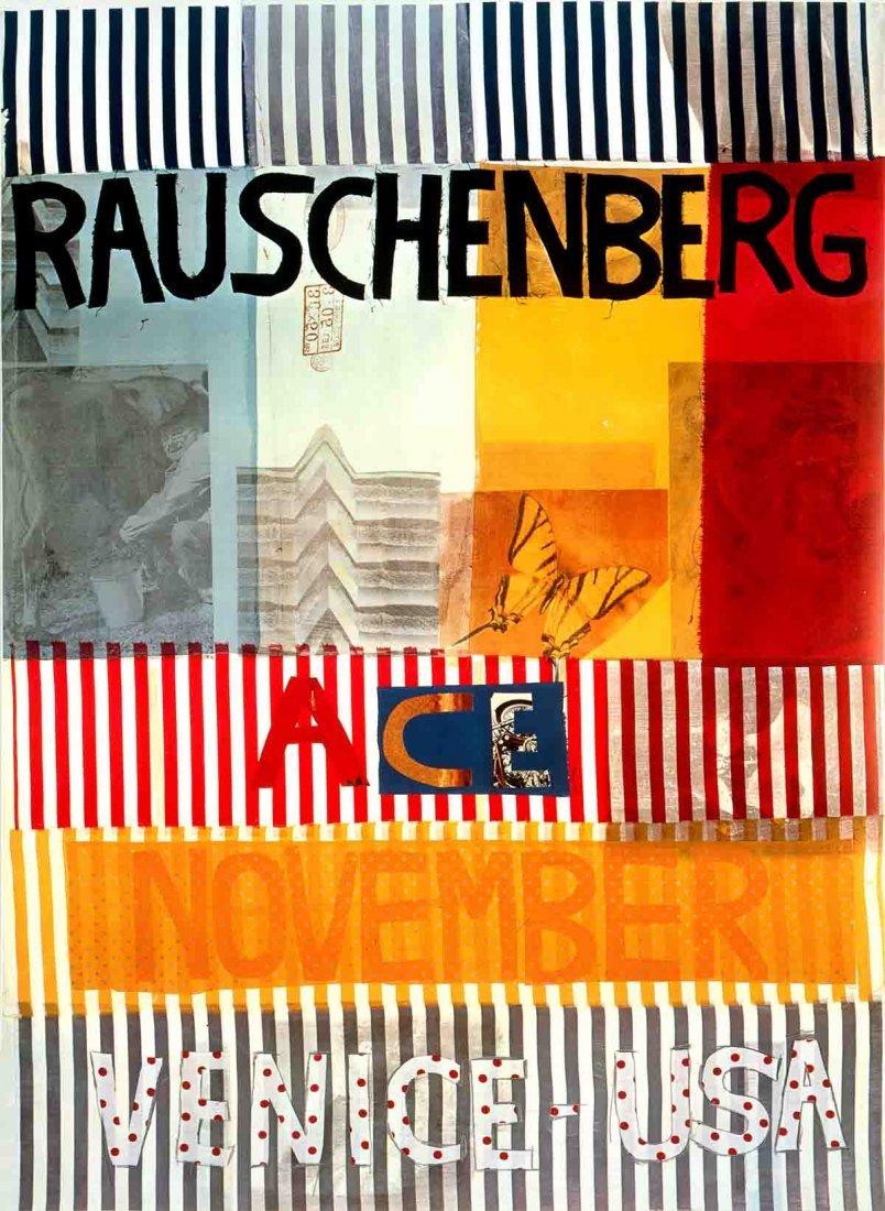 1977 Rauschenberg Ace Gallery, Venice, CA (sm)