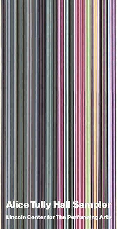 1971 Davis Alice Tully Hall Sampler Serigraph