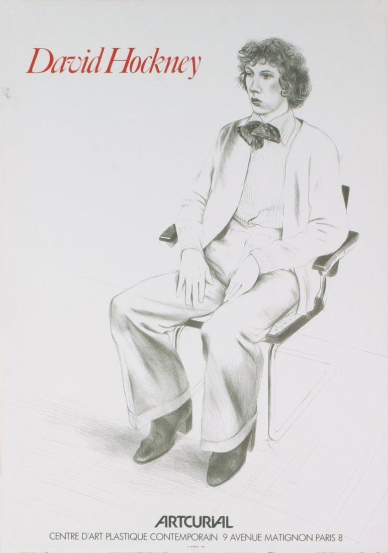 1979 Hockney Artcurial Mourlot Lithograph