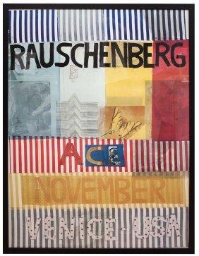 Robert Rauschenberg -ace Gallery, Venice, Ca (sm)