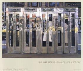 Richard Estes - Telephone Booths - 2007