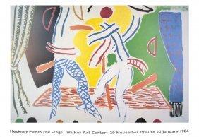 David Hockney - Two Dancers - 1983