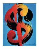 Andy Warhol  Dollar Sign  2000