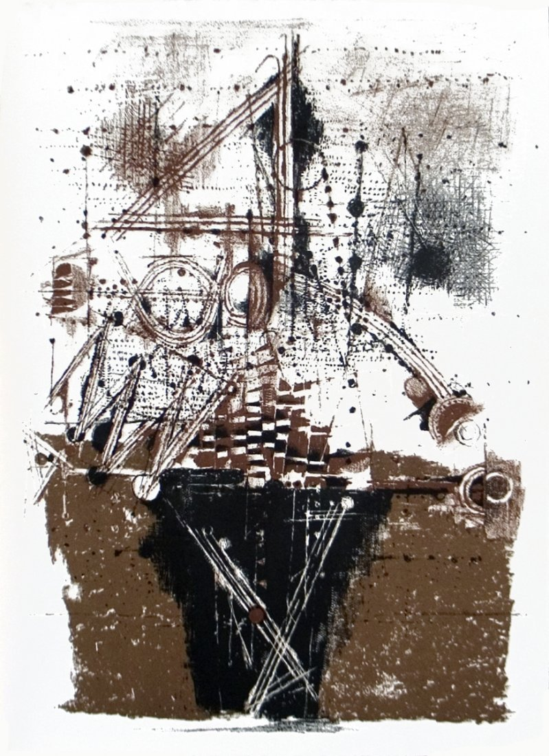 Johnny Friedlaender - Untitled, XXieme siecle