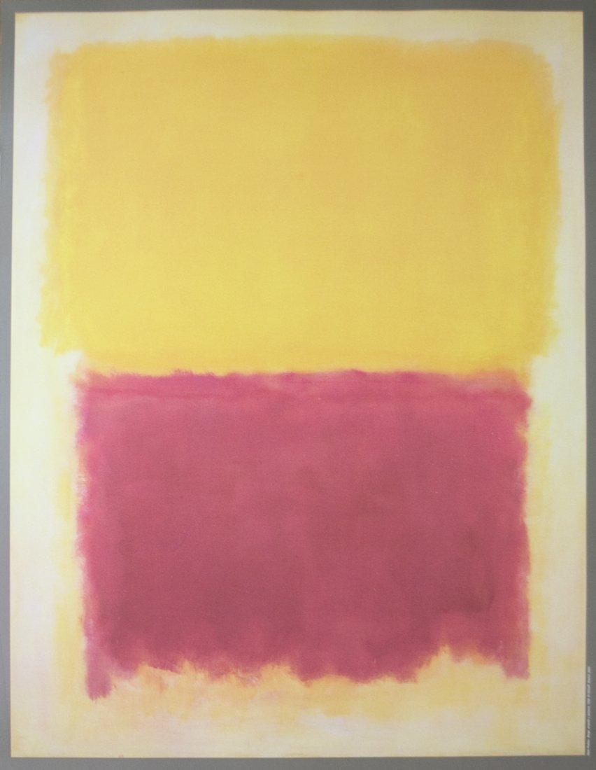 Mark Rothko - Beige, Yellow and Purple