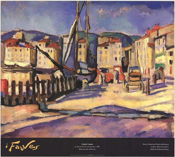 Charles Camoin - Le Port de Cassis a la Barriere