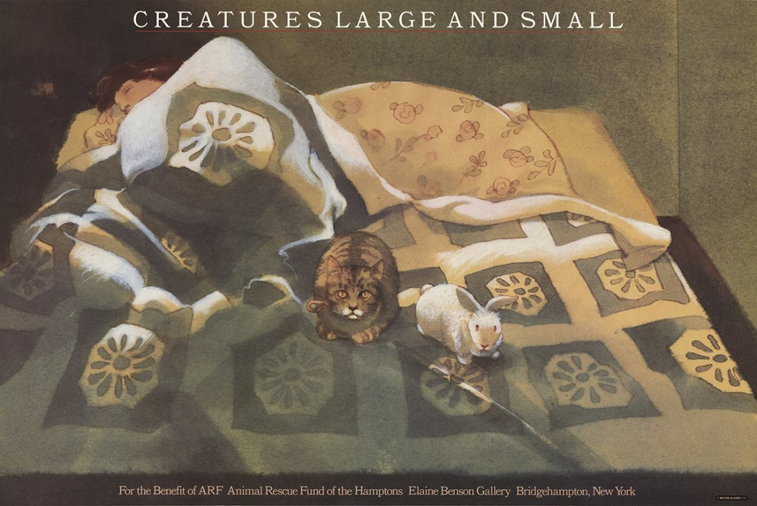 Milton Glaser - Creatures Large and Small - 1985