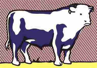 Roy Lichtenstein - Bull VII - 2013
