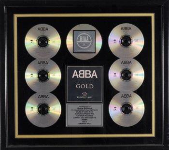 2: ABBA Gold award presentation sales award