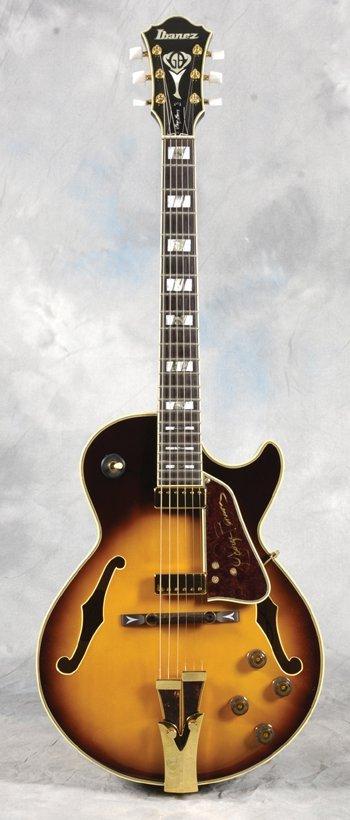 6: GEORGE BENSON signed/used Ibanez GB guitar