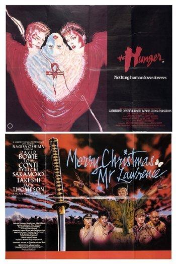 9: DAVID BOWIE original quad posters (2)