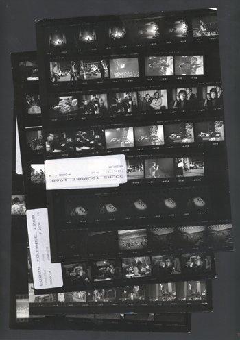 22: THE DOORS original contact sheets,1968