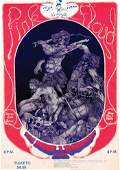 70 PINK FLOYD Utah concert poster 1970