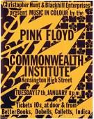 74 PINK FLOYD original concert poster 1967