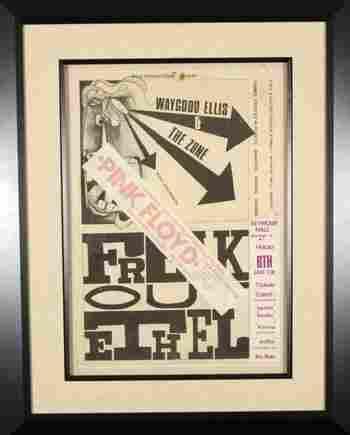 79: PINK FLOYD Freak Out Ethel poster, 1967