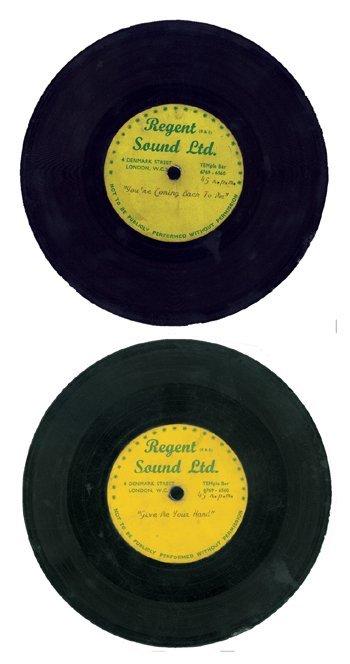 129: ROLLING STONES very rare unheard acetate, 1964