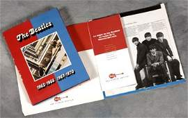 512: The Beatles red and blue albums promo press kit