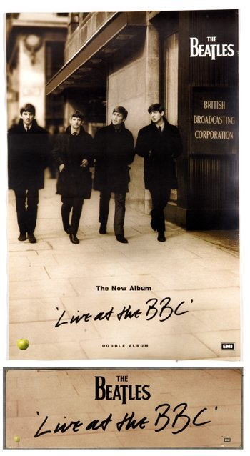 513: Beatles Live at BBC press kit promo only pack