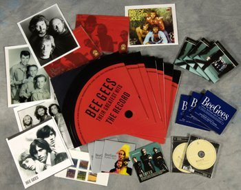 519: Bee Gees rare promo only CDs, records and stamps