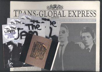 540: Rare Jam promo newspaper Trans Global Express