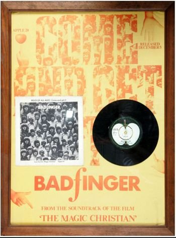5 - Badfinger signed 45 record