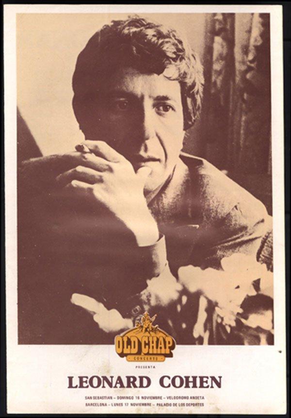 14 - Leonard Cohen concert booklet 1980