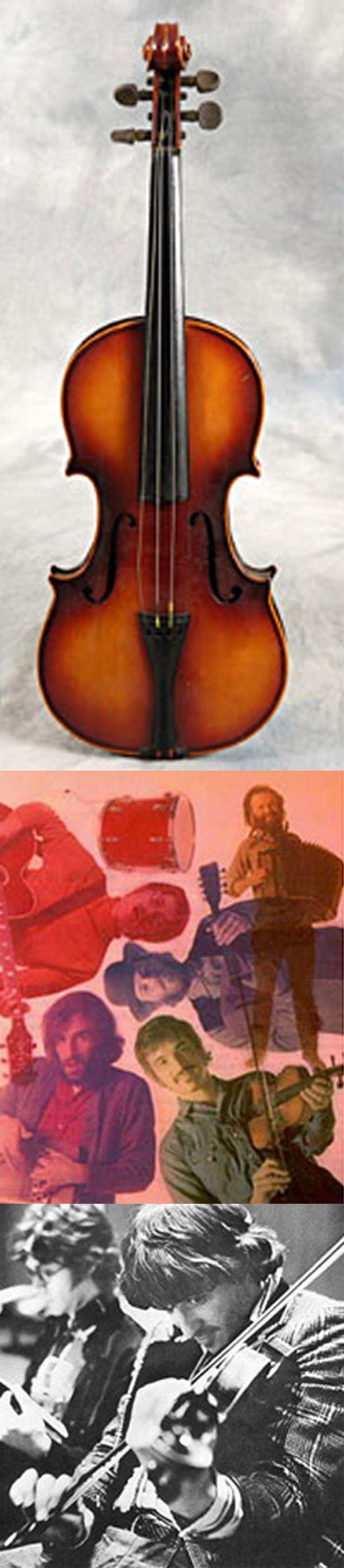 18 -Rick Danko The Band owned & played Violin