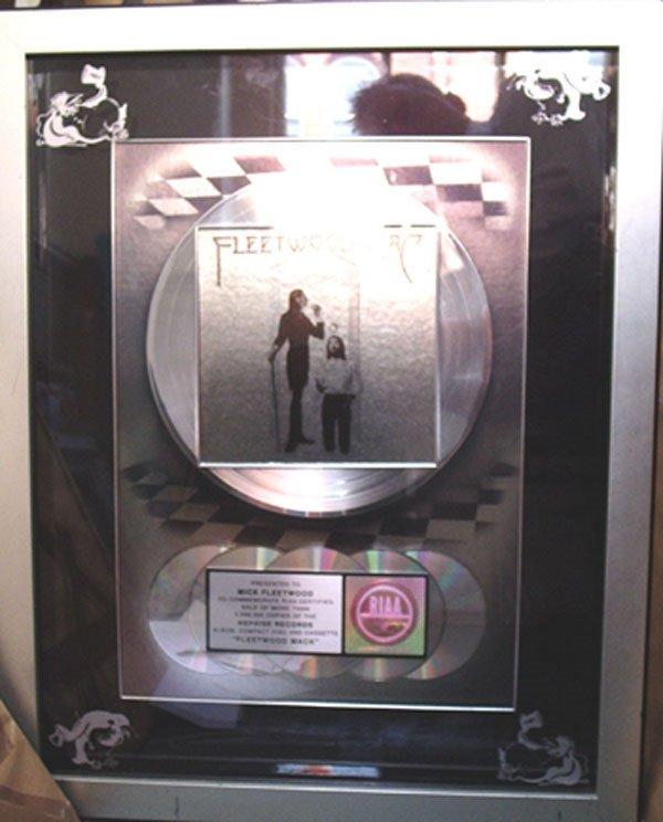 23 - RIAA US sales award for Fleetwood Mac
