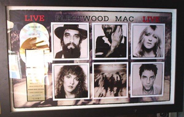 24 - RIAA U.S. sales award Fleetwood Mac Live