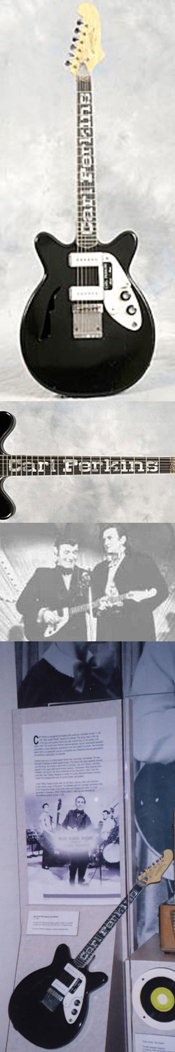 72 - Carl Perkins owned and played guitar