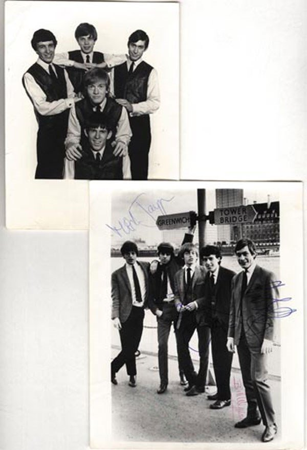 88 - Rolling Stones signed publicity photo