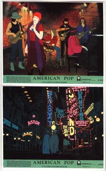 1001: 1001 - 'American Pop' posters / lobby cards
