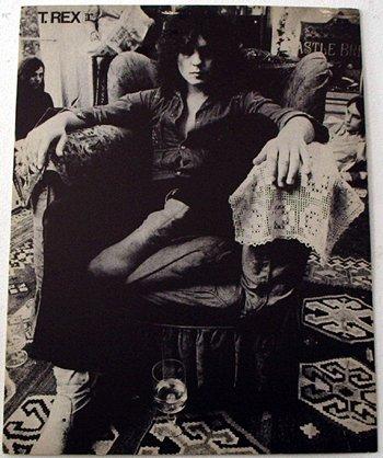 1008: 1008-T. Rex/Marc Bolan promo poster on cardbo