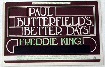 1012: 1012 - Paul Butterfield New Era Follies poste