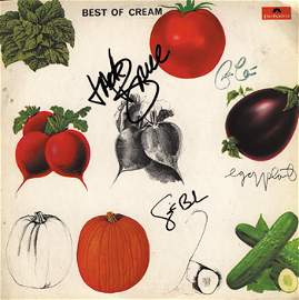 1015: 1015 - Best of Cream signed by the band