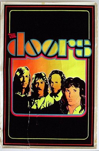 1019: 1019 - Doors blacklight poster