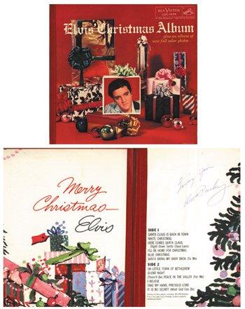 1023: 1023-RARE Elvis Presley signed 1957 album